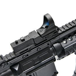 Wholesale C More Dot - New Tactical Red Dot Scope EX 182 Element SeeMore Railway Reflex C-MORE Red Dot Sight 6 Color Optics Free Shipping