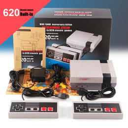 Wholesale Wholesale Game Player - Mini TV Video Handheld Game Player Console Built-in 500 620 Classic Video Games For Super NES SNES PAL NTSC OTH002 with retail box