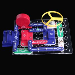 Wholesale Discovery Kids Toys - Snap Circuits Electronics Discovery Blocks Kit Science DIY Educational Toy Kids Gift