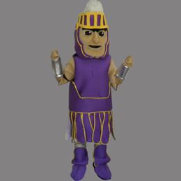 Wholesale Hero Mascots Character Costume - Mascot Costume General Halloween Christmas Birthday Character Costume Dress Warrior Hero Mascot Free Shipping