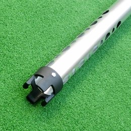Wholesale Up Aid - Wholesale- Hot Selling Golf Ball Retriever Anti-Dropping Device Pick Up Ball Cylinder Golf Training Aids Golfer Golfing Equipment 98CM