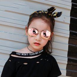Wholesale Baby Toy Frame - New Fashion 6 style Kids Baby Boys Girls Fashion Sunglasses Metal Ball Sun Glasses Beach Toys UV400 Protection Sunglasses kids Sunbolck