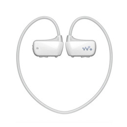Wholesale Headphone Real - Wholesale- Brand New Real 4GB Sport MP3 Player for Son Walkman NWZ-W273 4G Earphones Running Reproductor Mp3 Music Players Headphone