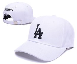 Wholesale Snapback Hats Los Angeles - Free Shipping hot Fashion! Adjustable Los Angeles Dodgers Snapback Hat Snap Back Hat For Men Basketball CapHat Baseball Cap
