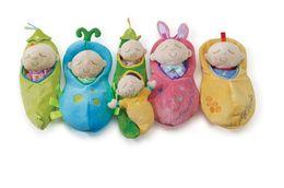 Wholesale Peanuts Baby - 2017 Manhattan Children Sleep Dolls lovely Peanut Cute baby Plush toys #468
