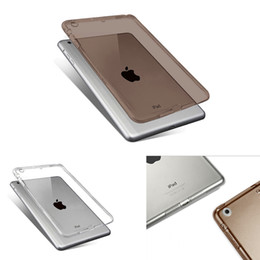 Wholesale Ipad Back Rubber - High Quality Soft TPU Case for iPad Mini 1 2 3 Transparent Slim Rubber Skin Fitting Wrapping Back Cover for Ipad Mini 1 2 3