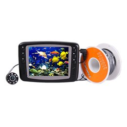 "Wholesale Camera Fish Finder System - 3.5"" Color LCD Monitor Fish Finder System 1000tvl CMOS Waterproof Camera Fishing 15m 30m Cable Underwater Fishing Video Camera"
