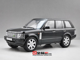 Wholesale Sale Kids Off - Hot sale New Range Rover 1:18 WELLY GTA SUV alloy car models Wheelbase Off-road vehicle Limited Collection Luxury cars Kids toy