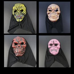 Wholesale Eva Full Face Party Mask - Halloween Terrorist Mask EVA Mask Costume Party Masks There Is No Horror Only More Terror Face CCA7105 500pcs