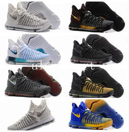 Wholesale Kd Basketball Shoes Sale - Hot Sale Kevin Durant 9 Elite Basketball Shoes Men KD 9 Sneakers Zoom KD9 Multicolor Flip The Switch Summer Pack Athletic Shoes 7-12