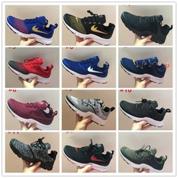 Wholesale Cheap Light Brown Weave - 2017 New Arrival Airs Presto SE Woven V3 Men's Running Shoes for Cheap Sale Presto Ultra Low Point Outdoor Casual Walking Sneakers Size39-45