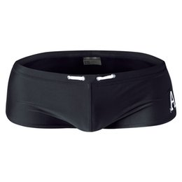 Wholesale Men S Boxers Designs - AUSTINBEM Brand Designed Swimwear Beach Trunks Swimwear Shorts Men Swimsuits Man Swimming Boxers Bikini Men Swimwear Trunks