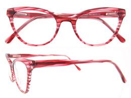 Wholesale Vintage Cats Eye Eyeglasses - 2017 New Fashion Brand Cat Eye Glasses Frame Vintage Women Eyewear Optical Men Computer Glasses oculos de grau femininos