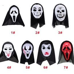 Wholesale Masquerade Wigs - Factory sell ! Hallowmas Final Destination Hair Accessories Hallowmas Mask Cosplay Masquerade Supplies