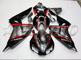 Wholesale Plastic Kit Motorcycle - New Injection Fairings For Honda CBR1000RR 06 07 CBR1000 2006 2007 ABS Plastic Motorcycle Fairing Kits Cowlings Bodywork set black red gray
