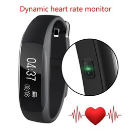 Wholesale lenovo waterproof - Original Lenovo HW01 Bluetooth 4.2 Smart Wristband Heart Rate Moniter Pedometer Fitness Tracker for Android iOS