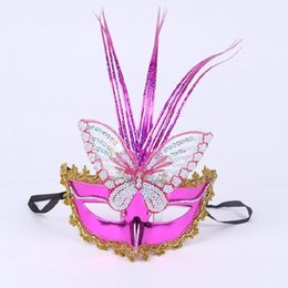 Wholesale Toys For Chinese Children - Rain luminous butterfly mask dance mask Halloween party dress wholesale children's toys spread the goods