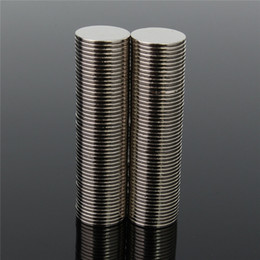 Wholesale Magnets Rare Earth 12 - 100pcs 12 x 1 mm Sucper Strong Round Disc Magnet Rare Earth Neodymium N50 Circular magnet Permanent magnet