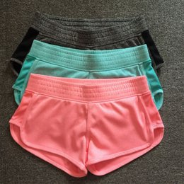 Wholesale Drop Ship Sport Pants - Women Running Shorts for Fitness Workout Gym Yoga Sport Shorts Sports Short Pants for Woman Elastic Bottoms S M L drop shipping