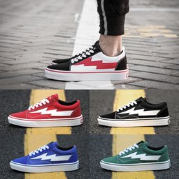 Wholesale Casual Canvas Shoes Womens - 2017 New REVENGE x STORM Old Skool Kanye Low Mens womens Canvas Shoes Skateboarding Shoes fashion Casual Shoes running sneakers US 5-10
