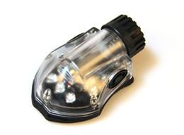 Wholesale Led Black Light Headlamp - Tactical Signal Lamp Green Infrared helmet light Headlamps Black