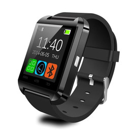 Wholesale Handsfree Bluetooth Bracelet - Wholesale- Smartwatch Adult Bluetooth Smart Watch U8 MTK Bracelet Sport Handsfree Digital-watch Wristwatch for Android Phone