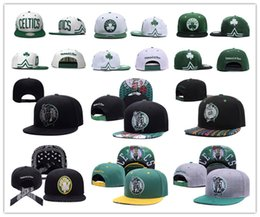 Wholesale Player Free - 2017 Discount price Basketball Boston Snapback pierce Caps Adjustable BaSeball Snap Back Snapbacks Players Sports free shipping