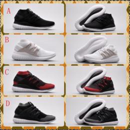Wholesale Black Toe Socks Men - Tubular Nova PK Y3 Men Women Sock-Like Casual Shoes ALL Black White Red Leisure Shoes Fashion Breathable Walking Shoes Size 36-44