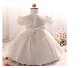 Wholesale Wedding Cake Appliques - New Girls Tutu Princess Dress Korean Style Children Lace Tulle Dresses Kids Summer Cake Party Dress Cute Baby Girl Dress