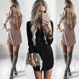 Wholesale Women S Formal Shirts - Plus Size Womens Blouses Fashion Autumn 2016 White Long Sleeve Body Shirt Women Shirts Tops Cotton Formal Blouse Clothing