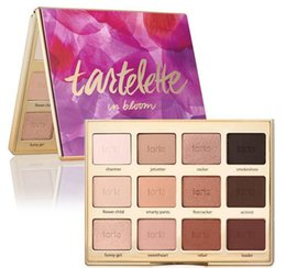 Wholesale Eye Shadows High Quality - HOT tarte Tartelette in Bloom Clay Palette 12 Colors Eye Shadow By Tarte High Performance Naturals - High Quality