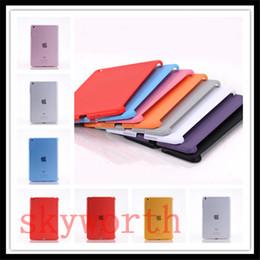 Wholesale Ipad Air Partner Shell - Hard Plastic Matte Smart Cover Partner Clear Back Case For ipad Pro 10.5 2017 air mini 2 3 4 5 6