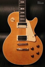 Wholesale Age Shop - Custom Shop Marc Bolan Tribute Natural Aged Electric Guitar Bolan Chablis Gold Grover Tuners 5 Ply Body Binding Drop Shipping