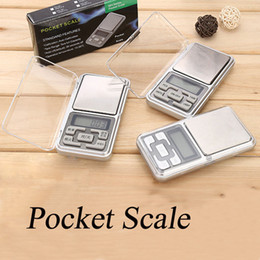 Wholesale Packaging Scale - Mini Electronic Pocket Scale 200g 0.01g Jewelry Diamond Scale Balance Scale LCD Display with Retail Package OTH311