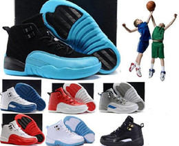 Wholesale Childrens Shoes For Girls - Air Retro 12 Grey Pink Black White Kids Basketball Shoes Childrens Sports Shoes 12s Sneakers Cheap Kids Shoes fashion trainer for boys girls