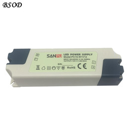 Wholesale Size 15w - SANPU LED Power Supply 12V 15W Constant Voltage Single Output Indoor Use IP44 Plastic Shell Small Size PC15-W1V12