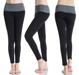 Wholesale Fr S - black, red, gray Women High Waist Print Yoga Pants Workout Fitness Tights for Women High Quality Yoga Sport Leggings Female Running Pants fr