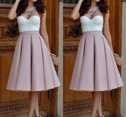 b055f02f7d0 Super Hot Date-night Party Skirts For Women Fixed Waist Satin Knee Length  Blush Pink Maxi Midi Skirts Fashion Formal Women Skirts affordable purple  satin ...