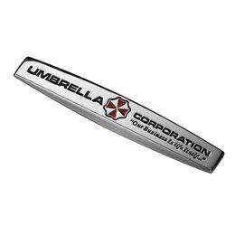 Wholesale Carbon Fiber Umbrellas - Umbrella Corporation Resident Evil Zombie 3D Metal Car Auto Motorcycle Badge Chrome Logo Emblem Sticker SUV Truck Car-Styling
