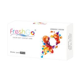 Canada Livraison gratuite par DHL Freshgo Pro étui à lentilles de contact couleur boîte de conditionnement pour lentilles de contact (L12) Offre