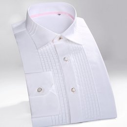Wholesale Dress Shirt For Men Oxford - Wholesale- 2016 New Mens Shirts Long-Sleeve Striped Shirts Brand Dress Shirt Casual Oxford Shirt Casual Camasia For Men LF CS01