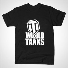 Wholesale World War Tanks - Wholesale- 2015 summer style Funny World Of Tanks T Shirt men Manufacture World War ii Tank T-SHIRT Men Plus Short-sleeve Top Tees