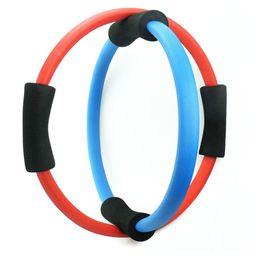 Wholesale Gym Rings Exercises - Wholesale-Body Building Women Yoga Exercise Pilate Ring Gym Fitness Training Pilates Magic Yoga Circle Slimming Yoga Ring Tool