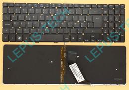 Wholesale Acer V5 572 - Keyboard for ACER M5-581T M5-581TG V5-571 V5-571G V5-573G V5-572 with backlight BE Belgian layout keyboard