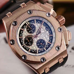 Wholesale Top Cheap Watch Brands - 2016 top brand classice cheap watches royal oaks offshore luxury replicas china watch japan movt quartz skeleton watch lower price free sho