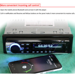 Wholesale Taxi Player - 12V Car Radio MP3 Audio Player Bluetooth AUX USB SD MMC Stereo FM Auto Electronics In-Dash Autoradio 1 DIN for Truck Taxi