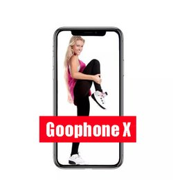 Wholesale Fingerprint Recognition - Free Dhl 5.5inch Goophone x goophone ix face recognition glass cover 4g lte Octa Core Wireless Charging 2G Ram 16G Rom Show 256Gb