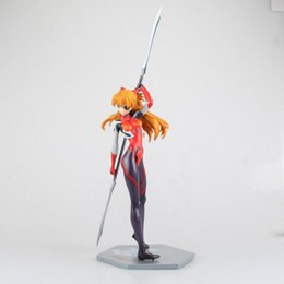 Wholesale Asuka Langley - Neon Genesis Evangelion Asuka Langley EVA 27cm collection anime figure Combat suit model Decoration box-packed PVC 27cm T7407