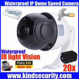 Wholesale Hd Outdoor Security Cameras Ptz - AHD dome PTZ high speed dome hd 1080P 2MP 20X zoom ONVIF indoor outdoor camera home 2megapixel waterproof CCTV security camera