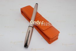 Wholesale Cases For Pens - Wholesale- Free Shipping The New Parker Office Supplies,leather Bag+ Fountain Pen Mo1315713 # (five Color Of Case For Chose)
